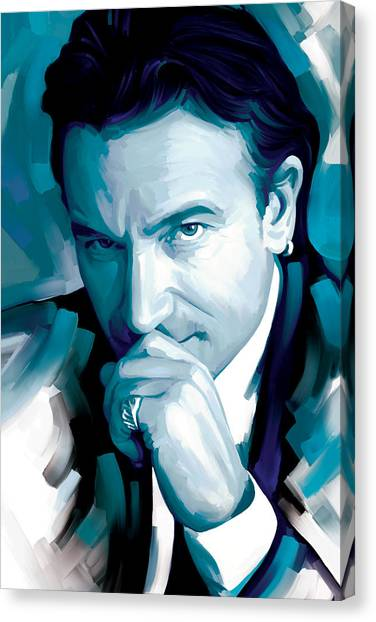 Bono Canvas Print - Bono U2 Artwork 4 by Sheraz A