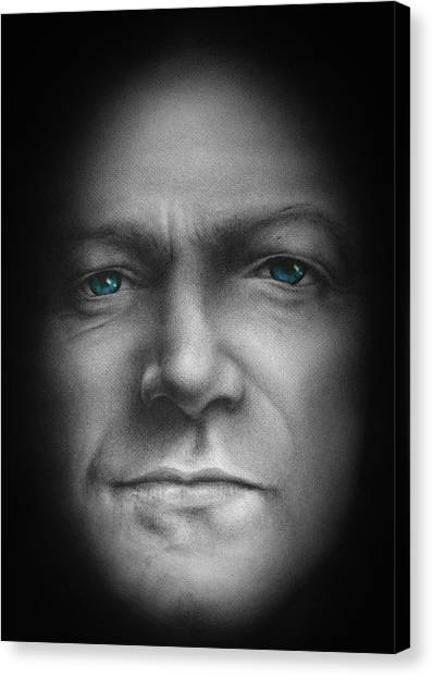 Bono Canvas Print - Bono - We Live In One World by David Oakley