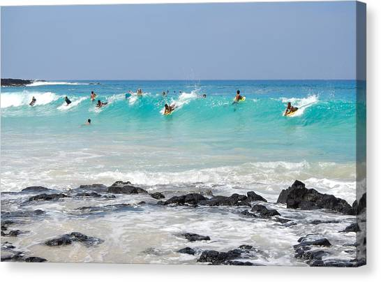 Canvas Print featuring the photograph Boogie Up by Denise Bird