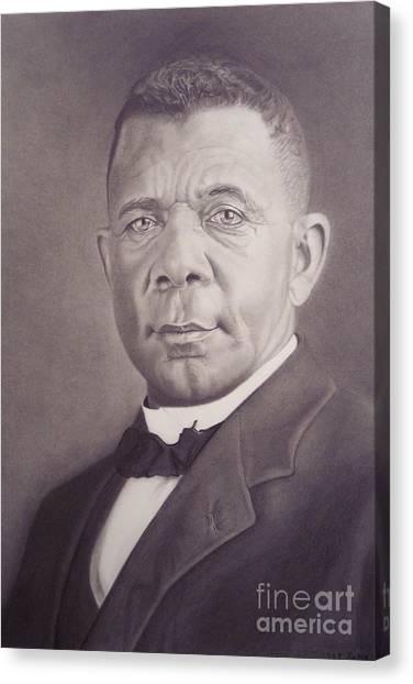 Booker T Washington Canvas Print