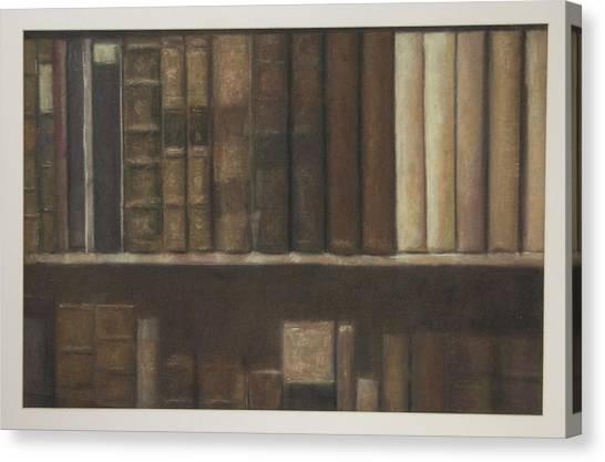 Bookshelf Canvas Print