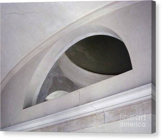 Frank Stella Canvas Print - Bookstore Arch by Europe  Travel Gallery