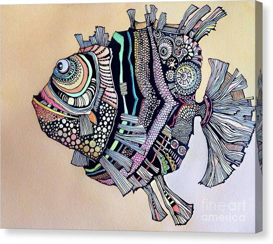 Boomer The Fish Canvas Print