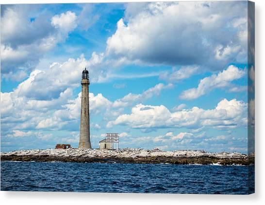 Boon Island Light Station Canvas Print