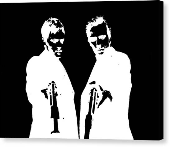 Gun Control Canvas Print - Boondock Saints by Clay Pritchard