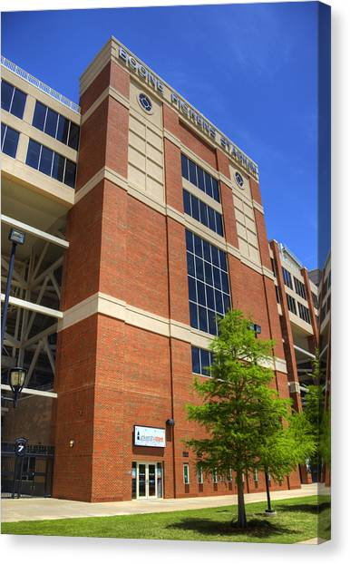 Big Xii Canvas Print - Boone Pickens Stadium by Ricky Barnard