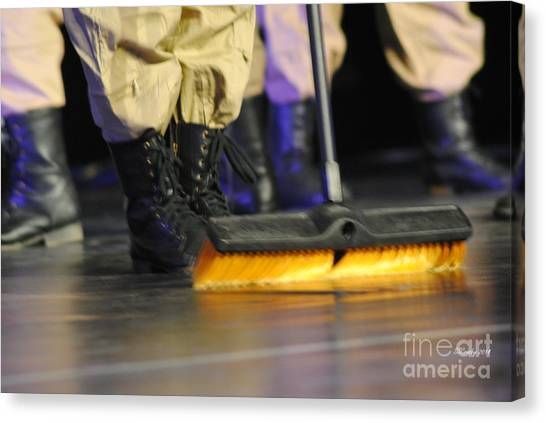 It Professional Canvas Print - Boots And Brooms by Susan Stevens Crosby