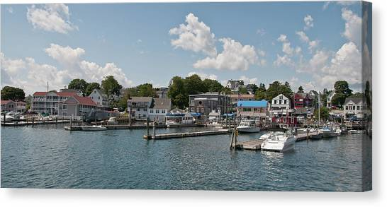 Boothbay Harbor 1242 Canvas Print