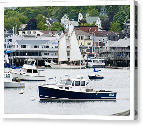 Boothbay Harbor Canvas Print