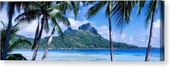 Tahiti Canvas Print - Bora Bora, Tahiti, Polynesia by Panoramic Images