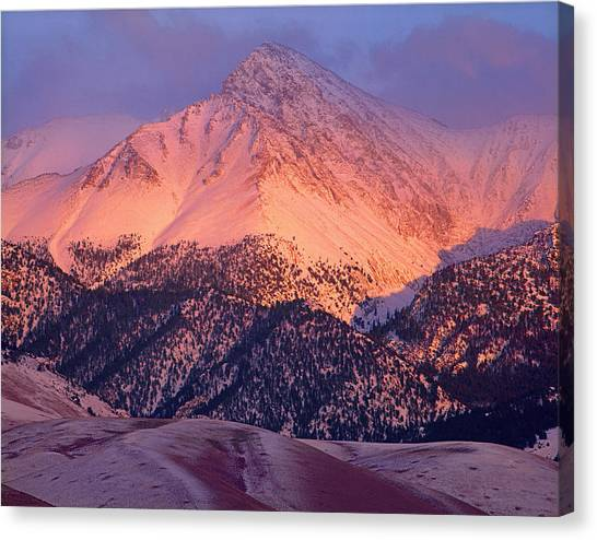 Borah Peak  Canvas Print