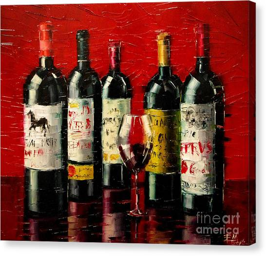 Bordeaux Collection Canvas Print