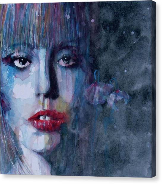 Lady Canvas Print - Born This Way by Paul Lovering