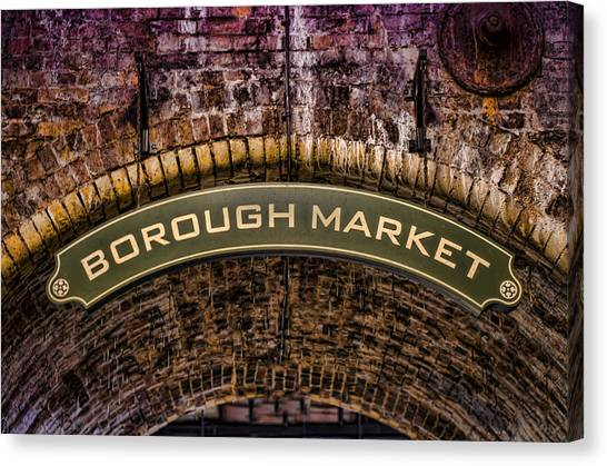 Borough Archway Canvas Print