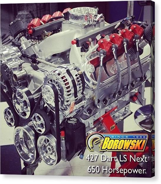 Racing Canvas Print - @borowski 427 Ls Next: Cnc'd Ls3 by Borowski Race