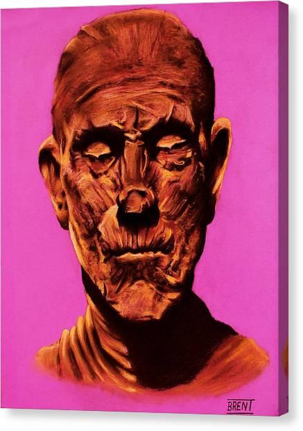 Borris 'the Mummy' Karloff Canvas Print