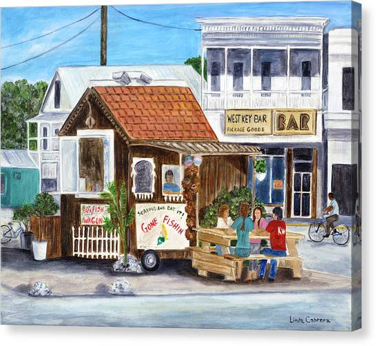 B.o.'s Fish Wagon Canvas Print