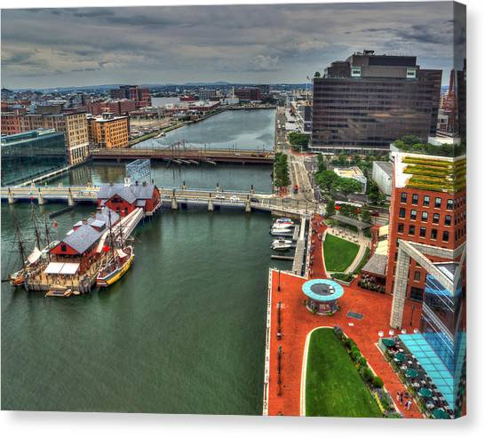 Boston 4020 Canvas Print