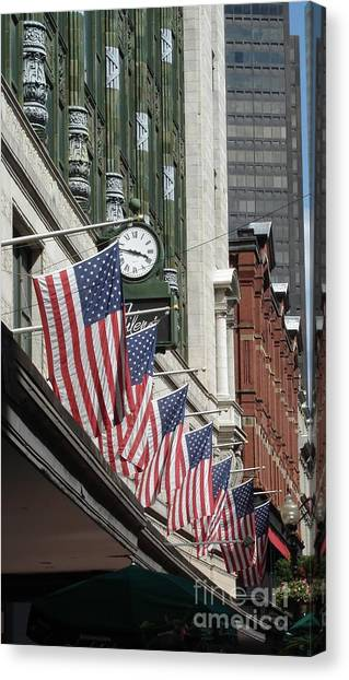 Boston 4th Of July Canvas Print