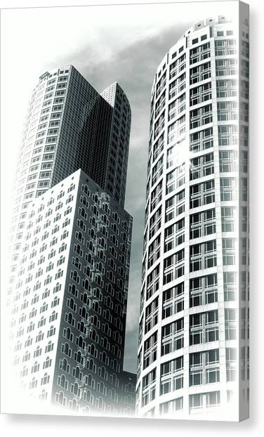 Boston Architecture Canvas Print