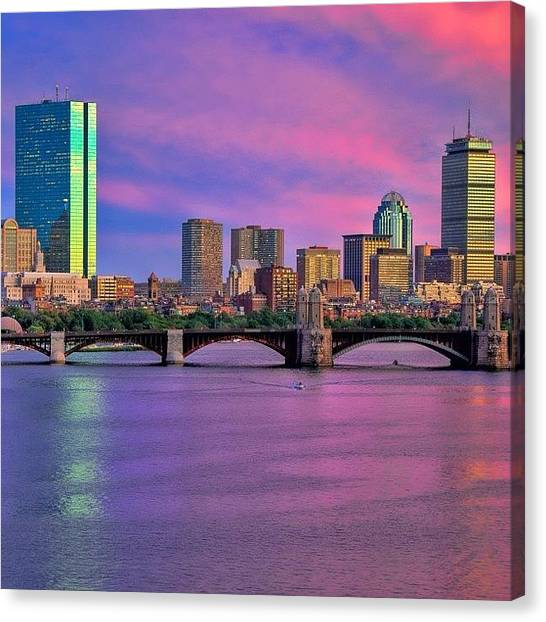 Massachusetts Canvas Print - #boston #bostonusa by Joann Vitali