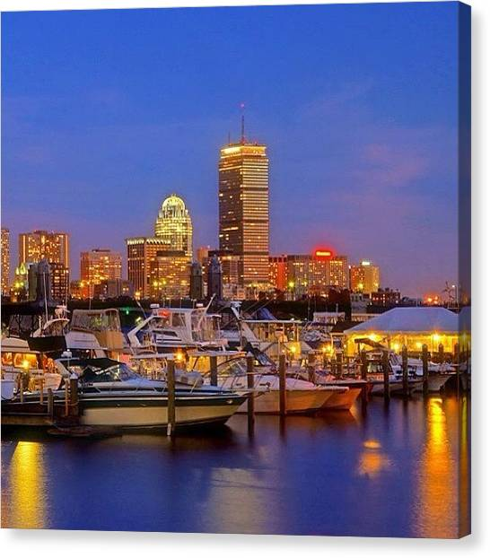 Massachusetts Canvas Print - #boston #bostonusa #visitma by Joann Vitali