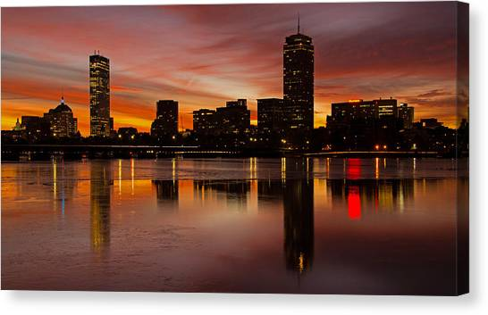 Boston Dawn Canvas Print