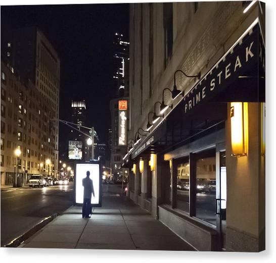 Boston Glow Canvas Print
