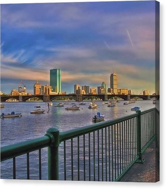 Massachusetts Canvas Print - #boston #igersboston  #bostonusa by Joann Vitali