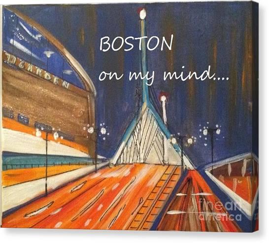 Boston On My Mind Canvas Print
