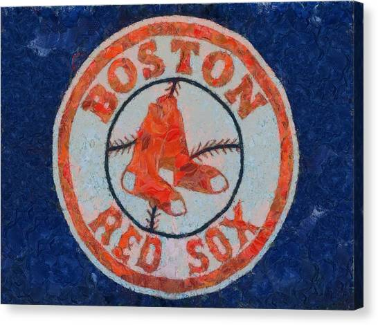 The Red Sox Canvas Print - Boston Red Sox by Dan Sproul
