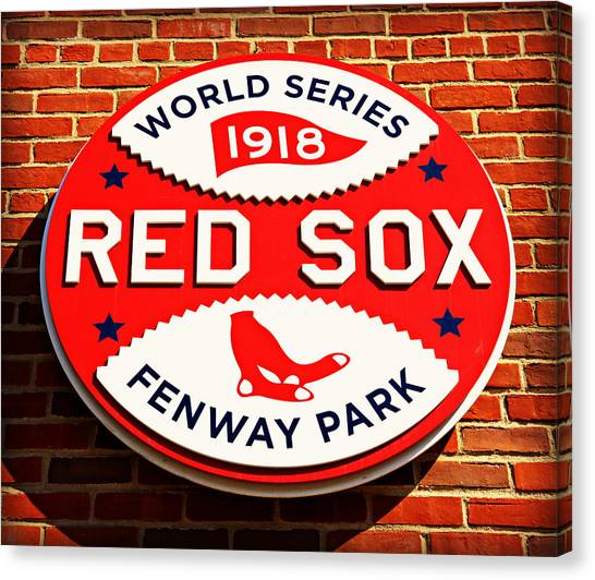Boston Red Sox Canvas Print - Boston Red Sox World Series Champions 1918 by Stephen Stookey