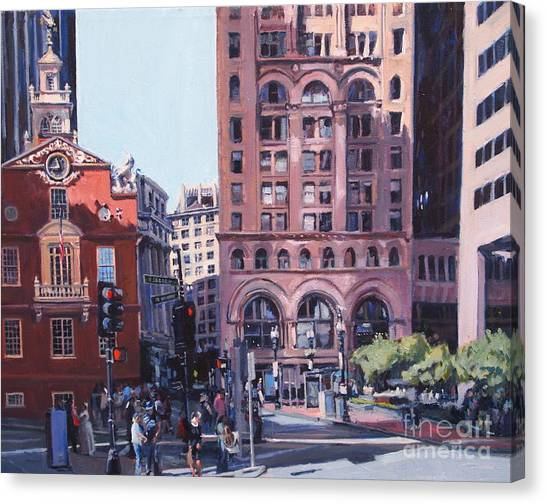 Boston Summer Canvas Print