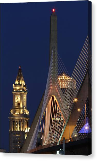 Boston Tall And Strong Canvas Print