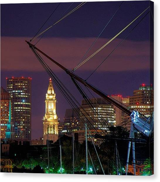 Massachusetts Canvas Print - #bostonusa  #iheartboston #boston by Joann Vitali