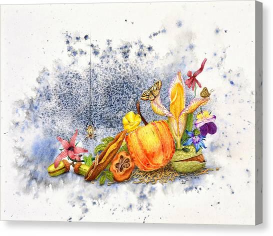 Botanical 1 Canvas Print