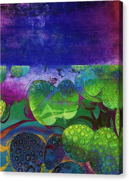 Botanical Elements II Canvas Print by Ricki Mountain