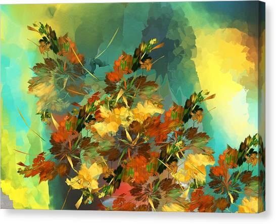 Canvas Print - Botanical Fantasy 090914 by David Lane