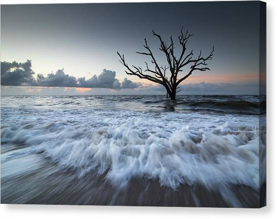 Ocean Sunrises Canvas Print - Botany Bay Power by Serge Skiba
