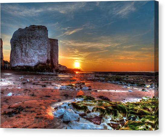 Botany Bay Sunset Canvas Print