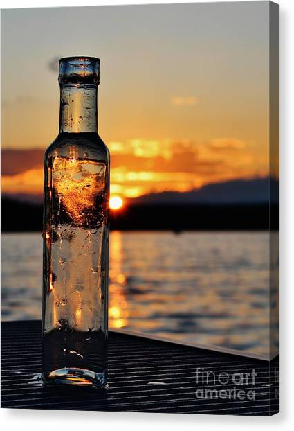 Bottled Sun Canvas Print