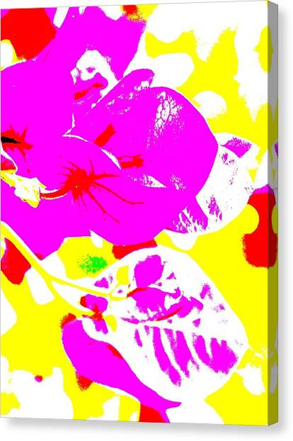 Bougie Canvas Print