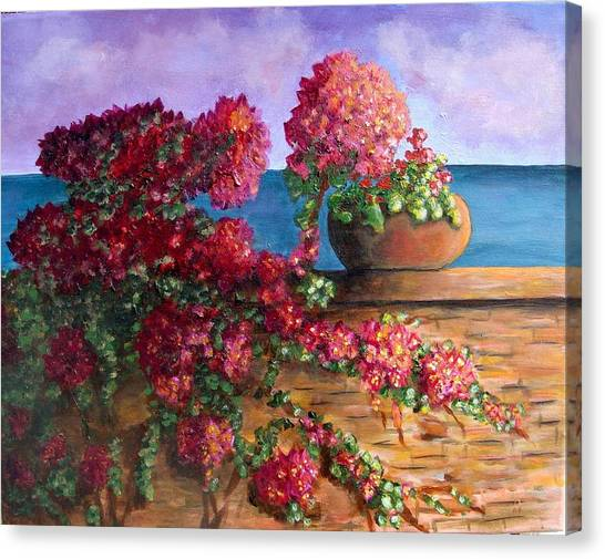 Bountiful Bougainvillea Canvas Print