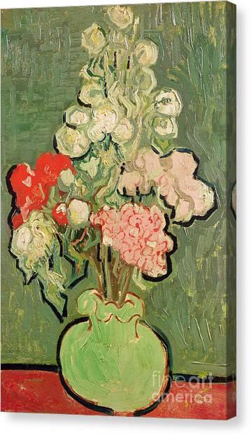 Elegant Canvas Print - Bouquet Of Flowers by Vincent van Gogh