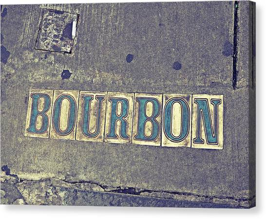Bourbon Street Tiles Canvas Print