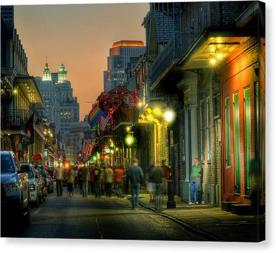 Bourbon Sunset Canvas Print by Ray Devlin