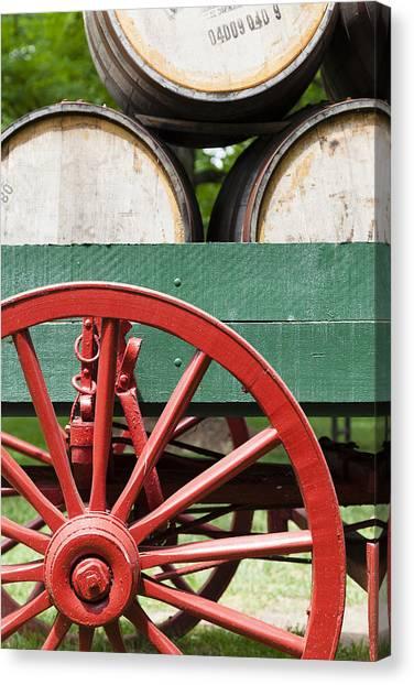 Bourbon Wagon Canvas Print
