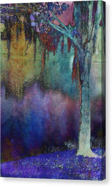 Bouyant Reflections Canvas Print by Jan Amiss Photography