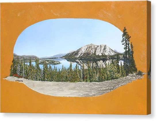 Bove Island Alaska Canvas Print
