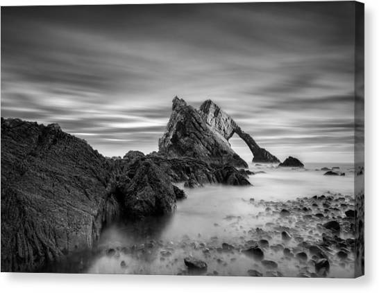 Fiddling Canvas Print - Bow Fiddle Rock 1 by Dave Bowman